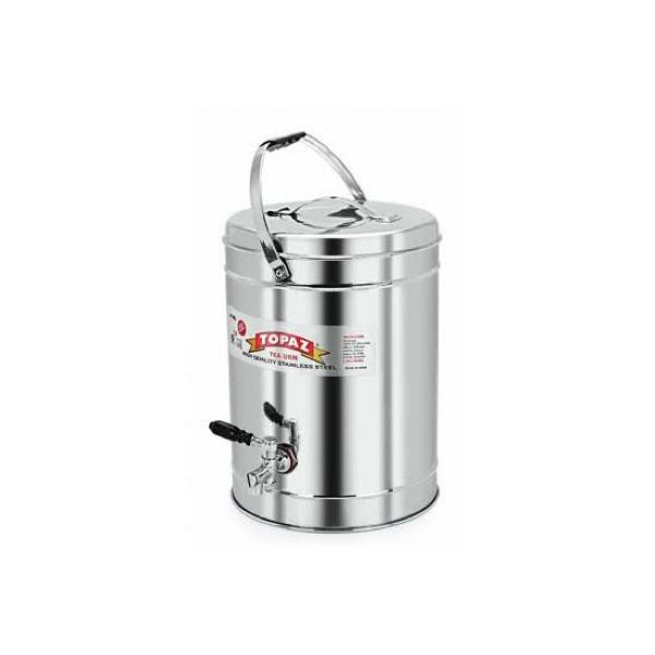 Topaz Tea Can Stainless Steel 5L